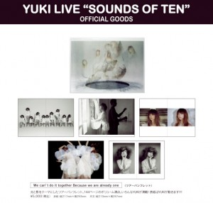 "YUKI LIVE ""SOUNDS OF TEN"""