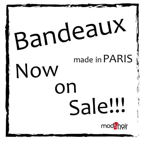 "New Item ""Bandeaux(ボンドー)""発売 !!"