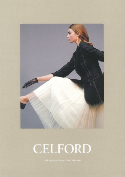 【Make-up 津田雅世】CELFORD 2019 Autumn WInter First Collection