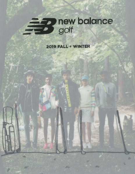 【Hair 小田代裕】new balance golf 2019 FALL+WINTER
