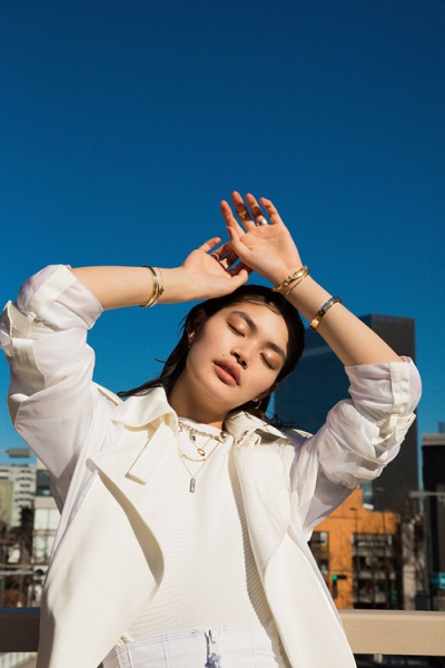 【Hair&Make-up 岩田美香】SPUR.JP Rina Fukushi × Tiffany & Co.