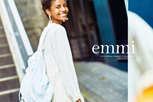 【Make-up 津田雅世 Hair 夛田恵子】emmi 2019 SPRING SUMMER COLLECTION
