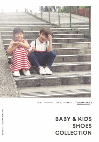 【Hair&Make-up 上川タカエ】MOONSTRA BABY&KIDS SHOES COLLECTION 2019S/S