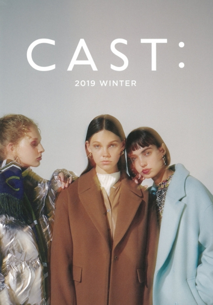 【Hair&Make-up 上川タカエ】CAST: 2019 WINTER