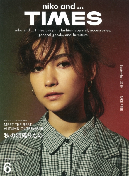 【Hair&Make-up 塩澤延之】niko and...TIMES ISSUE6