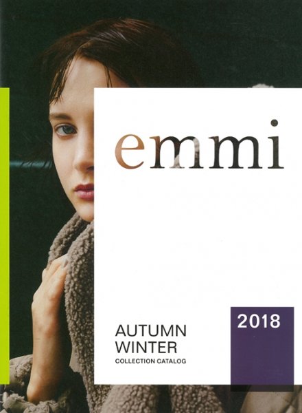 【Make-up 津田雅世】emmi 2018 AUTUMN WINTER COLLECTION CATALOG