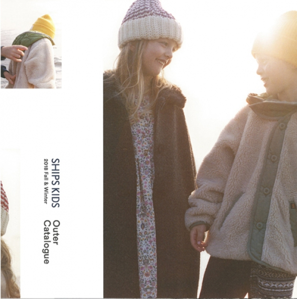 【Hair&Make-up 岩田美香】SHIPS KIDS 2018 Fall&Winter Outer Catalogue