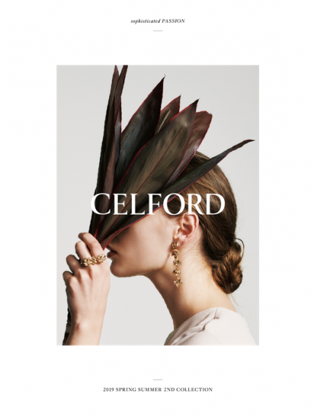 【Make-up 津田雅世】CELFORD 2019 SPRING SUMMER SECOND COLLECTION