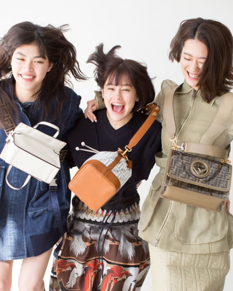 【Hair&Make-up 上川タカエ】THE FASHION POST Fendi #FendiBag Friend Forever with emma,Rina&Ran