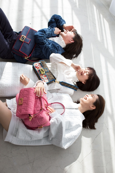 【Hair&Make-up 上川タカエ】THE FASHION POST Fendi #Baguette Friend Forever with emma,Rina&Ran