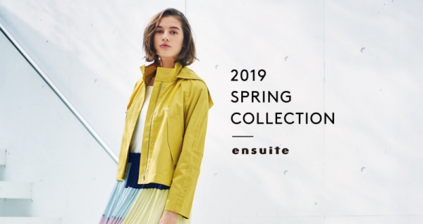 【Hair&Make-up 塩澤延之】ensuite 2019 SPRING COLLECTION
